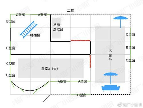 69 明日之后高分房子设计图 豪华建筑推荐第6期  二楼设计图纸: 二