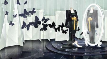 黑蝴蝶服装店