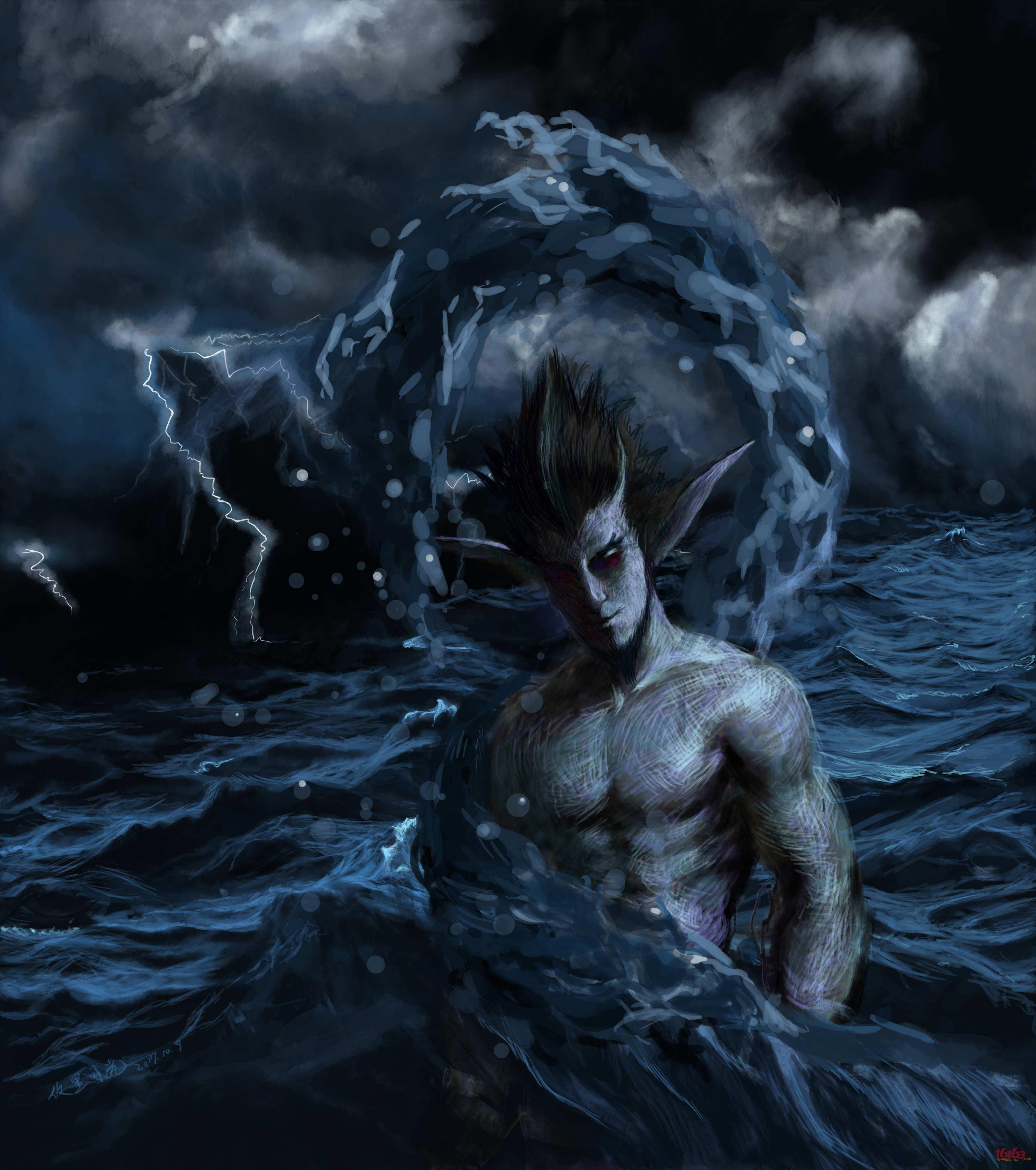 海神荒川之主
