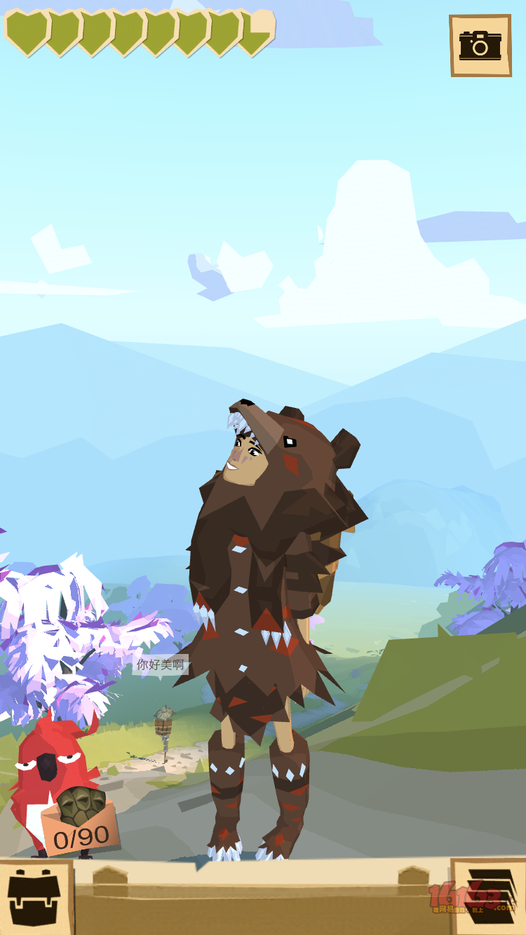 小熊熊猎人出发,过路人都夸我好美呢