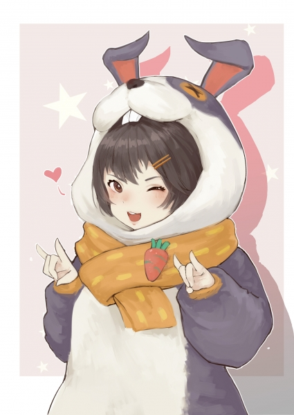 笨兔子的萌妹创作