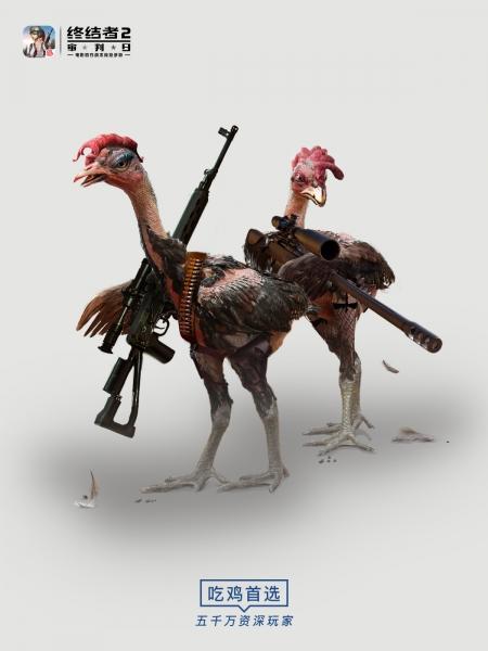 【庞门正道终结战场海报欣赏:我才是战斗鸡】
