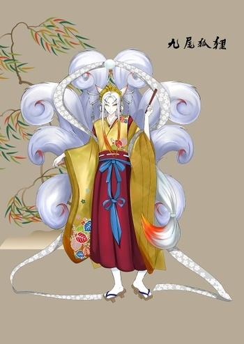 百绘罗衣妖狐设计