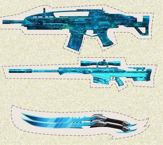 m14ebr做一个 樱花枪  3服 16839348
