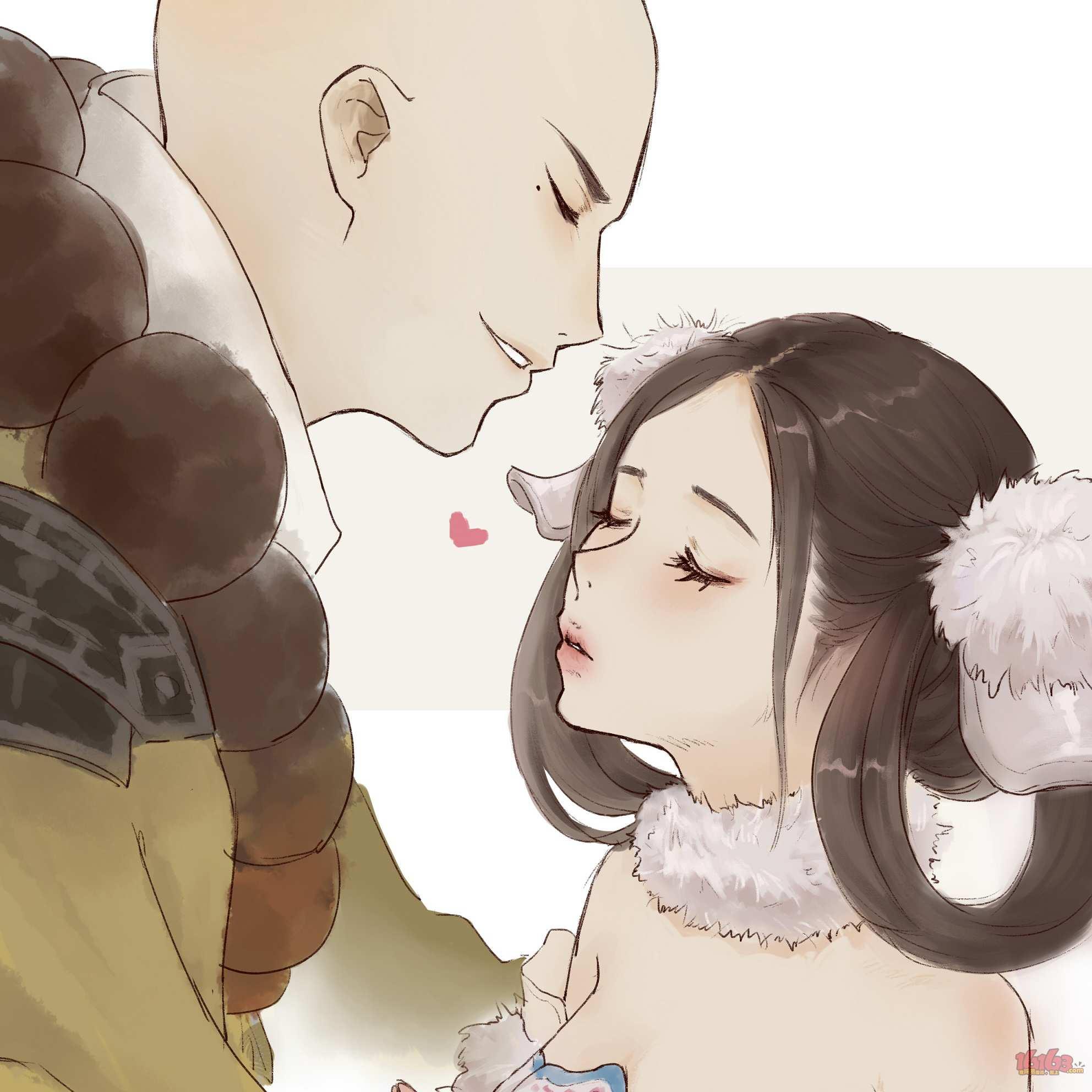 """【江湖笔墨客】""""闭上眼睛,我告诉你一个秘密~"""""""
