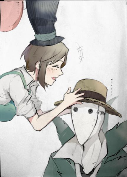 是帽子互换的杰园