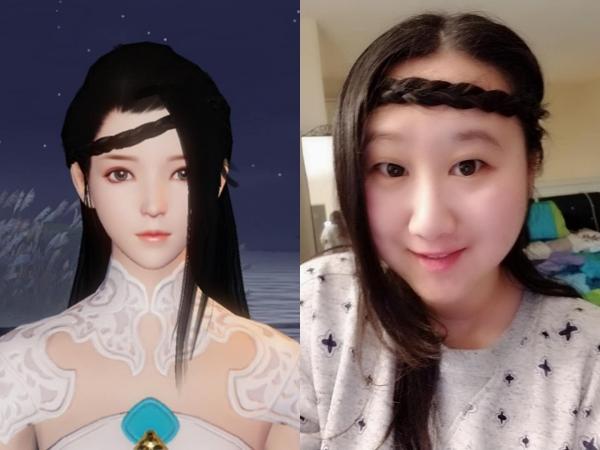 云夢的角色髮型~