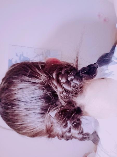 游青雀的萝莉发型