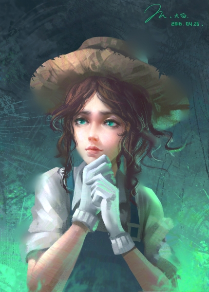 第五人格画像——园丁