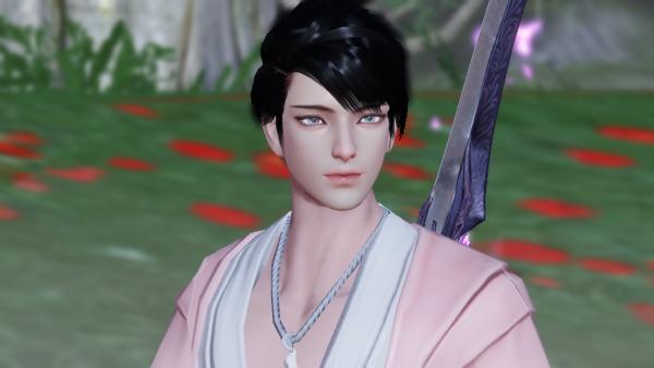 【捏脸名侠】半步青莲---你要的新版男暗香捏脸,请接收!!