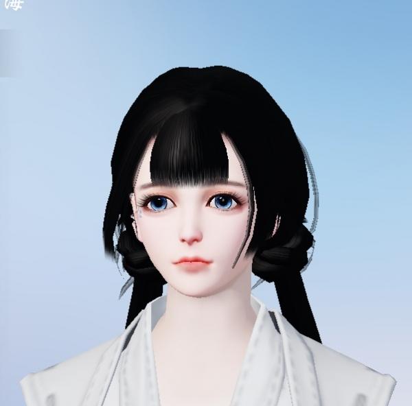 【捏脸名侠】月天心——萌萌的萝莉脸数据分享给大家