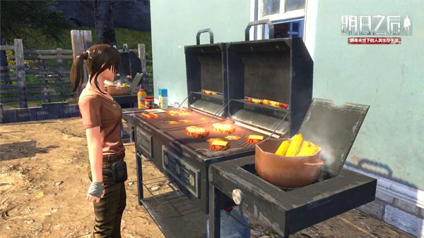 图1 烧烤炉前烹饪食物 .jpg