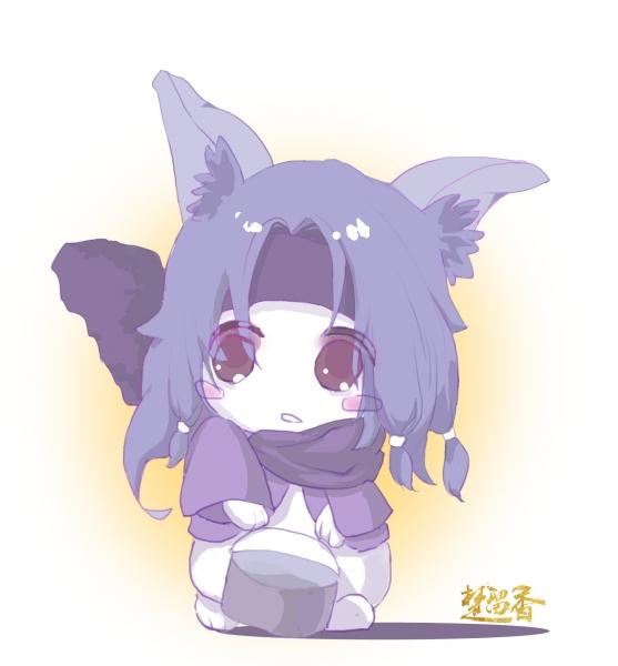 【江湖笔墨客】暗香家的小兔子