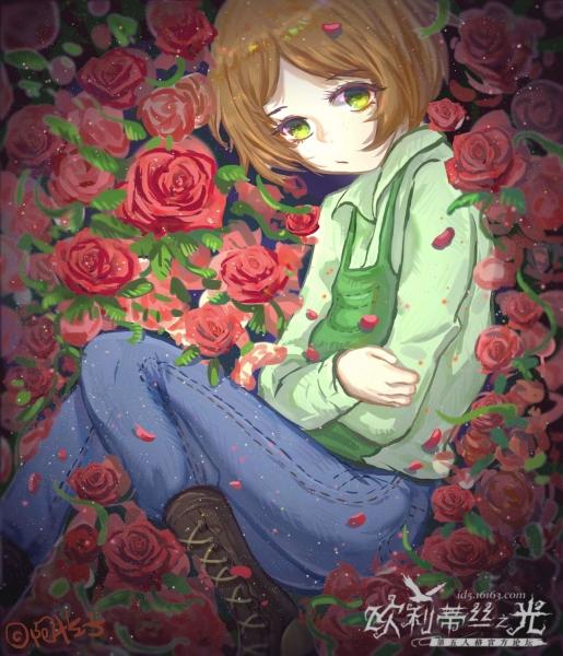 园丁---------------于花丛中