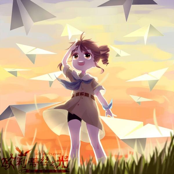 玛尔塔与纸飞机