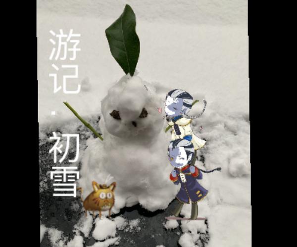 主题:宿伞之魂游记·初雪昵称:李泽言家的太太