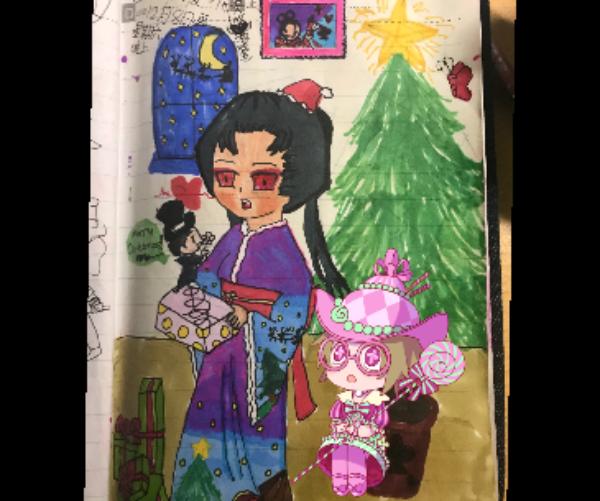 主题:圣诞快乐昵称:杰园真可爱吖