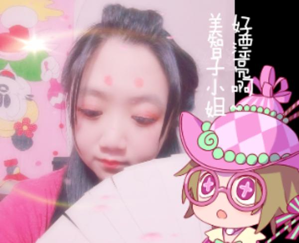 主题:盲女遇到了红蝶昵称:萌神kk苗