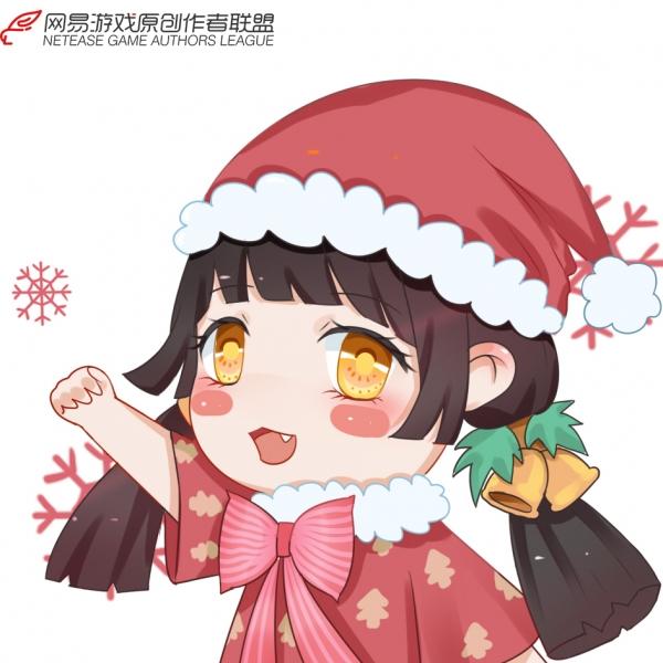 【江湖笔墨客】圣诞头像~