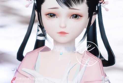【捏脸名侠】九木·秋若水——3.0新生版萝莉捏脸数据分享