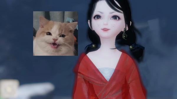 【捏脸名侠】3.0原创少女捏脸·咪子的表情包