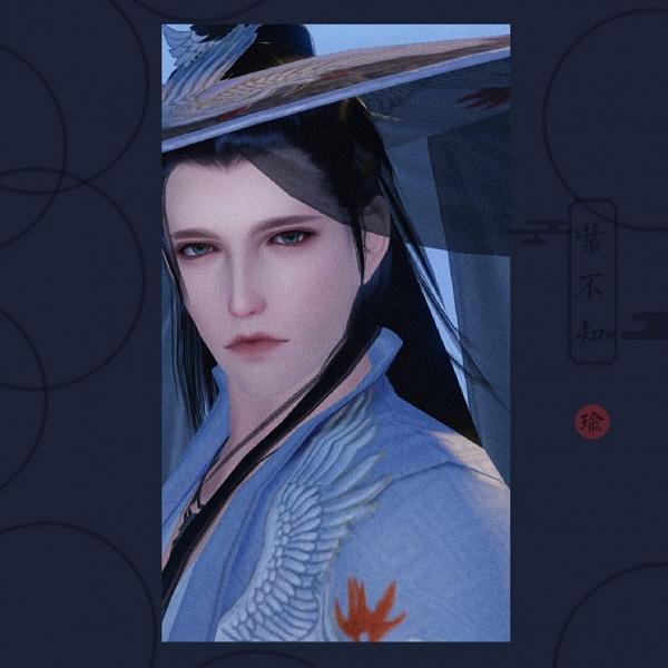 【捏脸名侠·叶不知】解落三秋叶 能开二月花