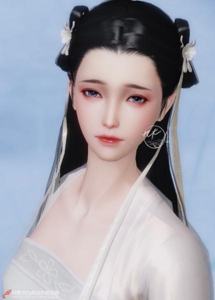 【捏脸名侠】九木·黛灵——3.0新生版成女捏脸数据分享