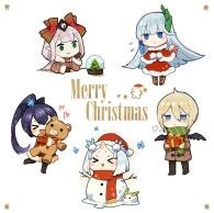式神们的圣诞节!大家圣诞快乐!!