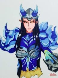 【大触团】手绘帅气女战士