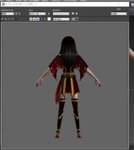 吸血姬  自己设计的时装  模型