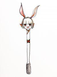 山兔软萌牙刷