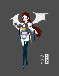 吸血姬-戮月银翼