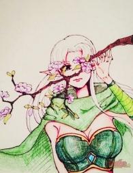 【大触团】画了两张游侠手绘