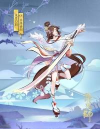 妖刀姬皮肤——水月刀羽
