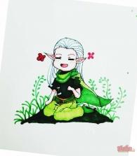 【大触团】听说精灵和花草更配