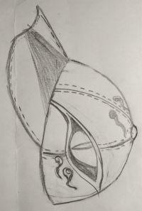 姑获鸟棒球帽设计图