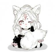 青行灯,妖狐,山兔图片