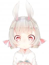 萌萌的山兔