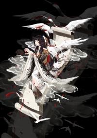 百绘罗衣 花鸟卷 云间鹤鸣