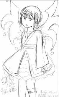 吸血姬小迷妹渣画