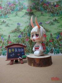 可爱的山兔你们难道不来看看嘛。
