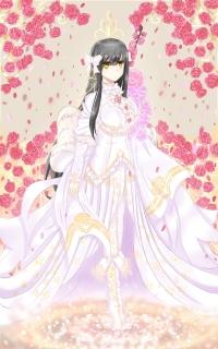 板绘(毁)妖刀姬皮肤·蔷薇白花
