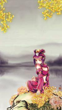 【手癌部落·绘世】[手机壁纸]绿杯红袖趁重阳——隐逸云——by柳眠风