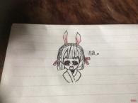 可爱的小山兔