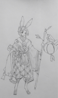 一只新式神,兔丸