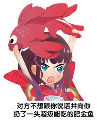 【神乐】对方不想跟你说话并向你扔了一头超级能吃的肥金鱼