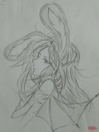 【大触团】恶魔兔叽小姐~(我没画衣服噗…)快快快刷卡上车!