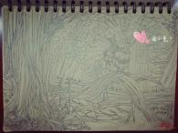 【开学喽】水笔/铅笔在课上无聊的随手涂鸦两枚