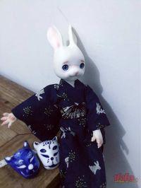 自制狐妖同人陶瓷面具